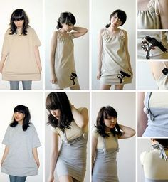 how to upcycle clothing from thrift stores | ... Article - Bring new life to old clothes upcycle style - Beyond.com