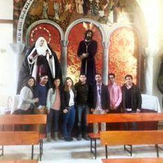 Los Chic@s de la Agrupación parroquial de la Coronación de Villamartin de visita en el Soberano Poder de Jerez