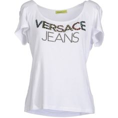 VERSACE JEANS Short sleeve t-shirt ($125) ❤ liked on Polyvore