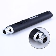 HOT Home Kitchen Lighters JET Torch Flame Pencil Butane Gas Refillable Fuel Welding Soldering 1300 Degree Pen Melting PP0 #Affiliate