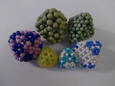 THE BEADED MOLECULES 串珠分子模型的美妙世界: Polyhedron