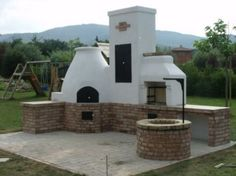 Bbq Grill, Barbecue, Outdoor Cooking Area, How Beautiful, Countryside, Patio, Outdoor Decor, House, Fireplaces