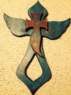 Cross I made to fight Ovarian Cancer
