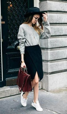 Best Trends from New York Fashion Week Spring 2017 Look Fashion, Girl Fashion, Autumn Fashion, Fashion Outfits, Womens Fashion, Fashion Trends, Fashion Ideas, Mode Grunge, Casual Outfits