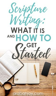 People often ask me what Scripture writing is and how to get started with it. This post answers those questions. Come read the beginner's guide to writing Scripture and learn how to get started! #Scripturewriting #Biblestudy #Biblestudymethods