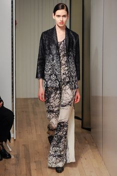 Yeohlee | Fall 2014 Ready-to-Wear   The #prints on this outfit are to die for!
