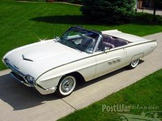 Ford Thunderbird Convertible 1963.