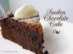 Rick Stein Sunken Chocolate Cake