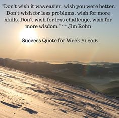 Success Quote for Week #1 2016