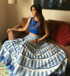 Shilpa Shetty aces festive-chic in #LoveNotesByAnitaDongre