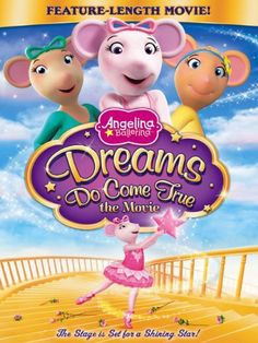 With Charlotte Spencer, Jules de Jongh, Naomi McDonald, Larissa Murray. It's a dream come true! Join Angelina as she discovers what matters most to any young mouseling in this heart-warming dancing and singing, must-see feature length movie spectacular!