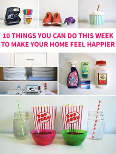 10 Things You Can Do This Week to Make Your Home Feel Happier on Style for a Happy Home // Click for details