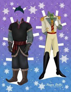 Disney's Frozen Paper Dolls (new set) | SKGaleana