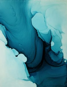 Making Waves, by Andrea Pramuk, mixed media on Claybord, 2015. www.andreapramuk.com
