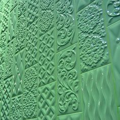 #vives #ceramic #tile #vintage #trend #colorfull #green #patterns #cevisama #amazing #cute #chic #desing #wall #interior #beautiful #decoration #architecture