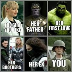 Marvel comparison. Just too funny