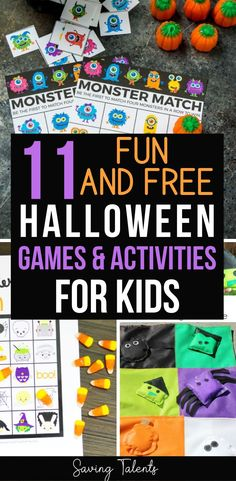 Throwing a Halloween party with children this year? Check out this list of our favorite free fun Halloween party games - they're a must this Halloween season #halloween