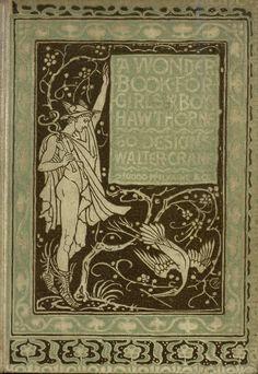 A Wonder Book for Girls and Boys ~ Hawthorne ~ Illus. Walter Crane