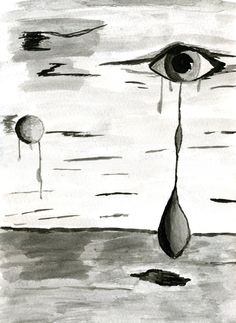 Imagen dibujada con tinta china