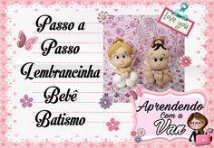 (DIY) PASSO A PASSO LEMBRANCINHA BEBÊ BATISMO COM MOLDE MINI PETS MINI