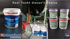 #International #Yacht #Paint #Micron66 #Antifouling & #Interprotect #Epoxy #Primer REAL YACHT OWNER'S CHOICE Are you one of them?  #EastMarine eastmarineasia.com