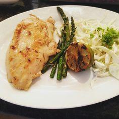 Pechuga de pollo en salmuera al Grill... By Lola's Flavours