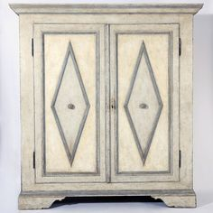 Italian Painted Cupboard - Decorative Collective