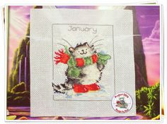 Project 2014: 1/40 January (Margaret Sherry-Calendar Cats)