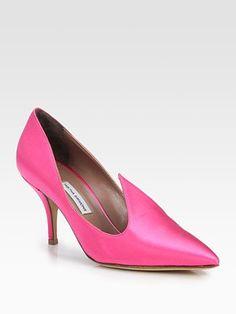 Tabitha Simmons Pixie Satin Pumps Tabitha Simmons, Satin Pumps, Wedding Accessories, Pixie, Kitten Heels, High Heels, My Style, Hot, Women
