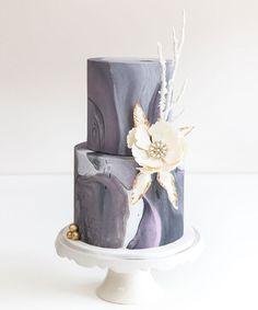 Cake Teacher - Marble Fondant Techniques