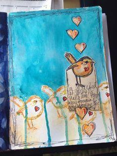 Art Journal page | Gwen Lafleur