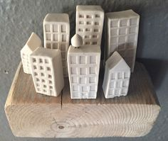 Porcelain Cityscape: architectural ceramic sculpture   by foldingchairpress on Etsy https://www.etsy.com/listing/215477065/porcelain-cityscape-architectural