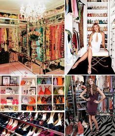 fashion closet tours celebrities - YouTube