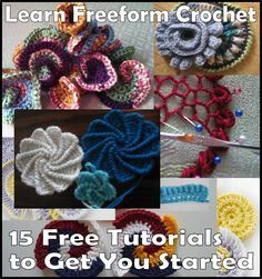 Learn Freeform Crochet: 15 Free Tutorials to Get You Started | Crafts Crazy