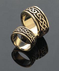 Custom Celtic wedding bands by Marc Williams Goldsmith