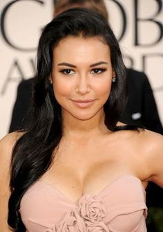 Naya Rivera (AKA Santana from Glee) - beautiful and absolutely stunning hair