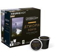 Keurig® K-Cup® Pack 16-Count Laughing Man® Ethiopia Sidama Coffee, Free Shipping #LaughingMan