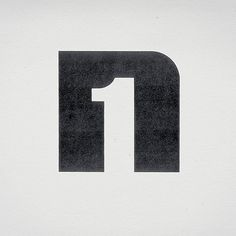 Negative space - easily used for logos.