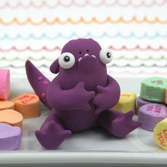 Clay Monsters, Little Monsters, Clay Crafts, Diy And Crafts, Clay People, Plasticine, Play Clay, Clay Sculptures, Monster Art