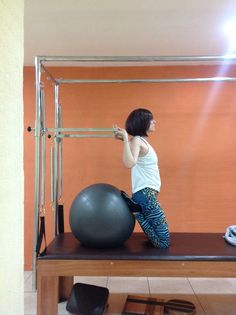 Treinando Pilates