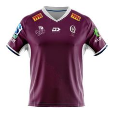 Super Rugby, Rugby Jerseys, Polo Ralph Lauren, Polo Shirt, Sports, Red, Mens Tops, Fashion, Hs Sports