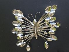 spoon Silverware-Butterfly-wonderfuldiy1