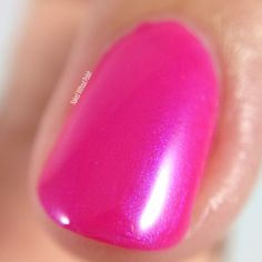 Macro of Lollipop Posse Lacquer Love the One You Got