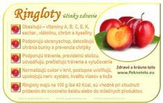 Info ringloty Prunus, Smoothie, Vegetables, Food, Essen, Smoothies, Vegetable Recipes, Peach, Meals