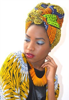 Welcome-Anything African/ Fashion Related goes. Ghanaian Fashion, African Fashion, African Wear, African Women, Style Turban, Head Band, African Traditions, Head Wrap Scarf, Head Scarfs