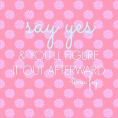 be spontaneous!