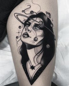 Lydia Madrid, La Llorona Tattoo, Madrid, Spain Lydia is an extremely talented young Spanish tattoo artist who has been making a name for herself on the international scene with her hyperfeminine total black tattoos which showcase her……Read Future Tattoos, New Tattoos, Body Art Tattoos, Small Tattoos, Cool Tattoos, Tatoos, Face Tattoos, Tattoo Life, Tigh Tattoo