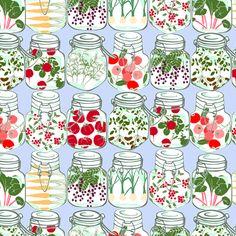canning fabric by karinka on Spoonflower - custom fabric