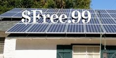 Solar panels are a good investment, but the start-up costs can be prohibitive. Here are some ways to get your solar panels for free.