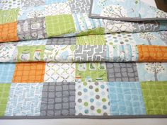 Quilt Baby/Toddler Backyard Baby Fabric by peekabootiquequilts ... : patchwork quilts for boys - Adamdwight.com